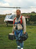 Sussex-based Video Cameraman Mark Snashall films from helicopter